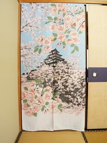 Noren Chateau Tsuruga Fleurs Sakura
