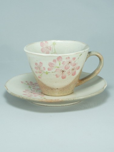 Sakura coffee cup