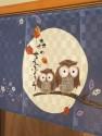 Noren Tsuki Fukuro Moon Owls