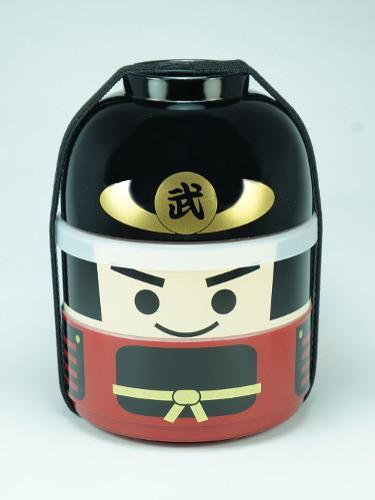 Bento Box Kokeshi Bushi Samurai