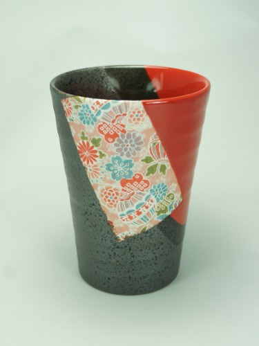 Cup Shuiro black and red