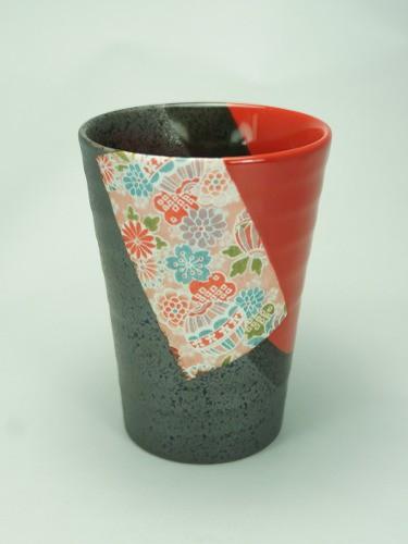 Tasse Shuiro noir et rouge