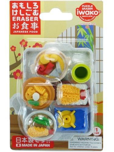 Gomme Iwako Repas Japonnais