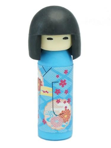 Blue Kokeshi Eraser
