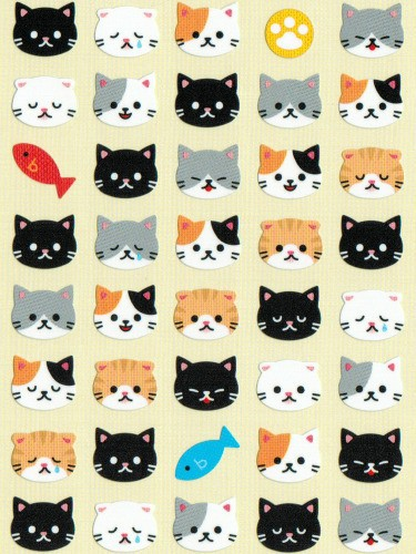 Chocotto Cats Stickers