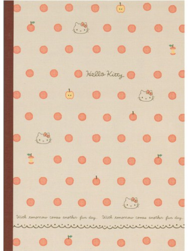 Cahier Hello Kitty Pomme