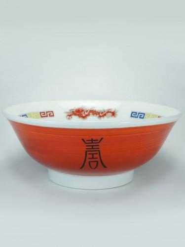 Urushi dragon bowl
