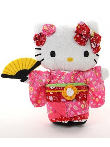 Peluche Hello Kitty rose