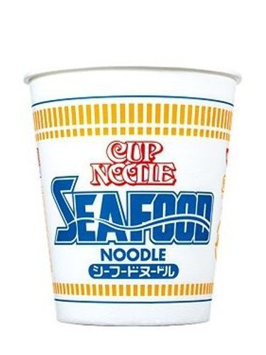 Nissin noodle cup - Seafood