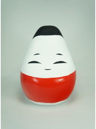 Red Okiagari-Koboushi