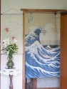 Noren Hokusai Wave