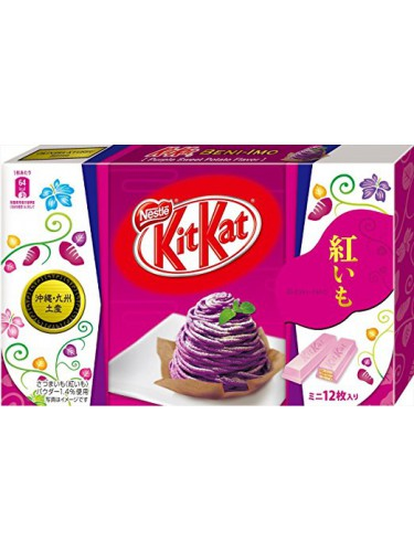 Kit Kat Sweet Purple Potato