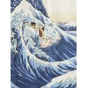 Noren Surfer Hokusai Wave