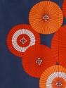 Noren Umbrella Blue Red