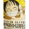 Noren One Piece Wanted Luffy