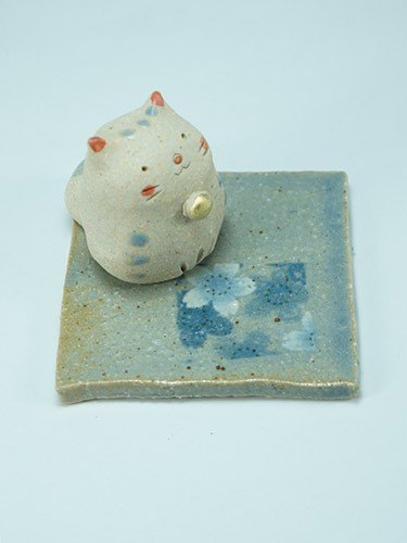 Neko Incense Holder
