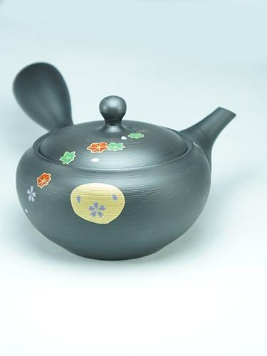 Kinsai Sunjyuu cherry flowers teapot