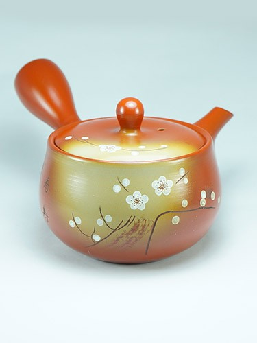 Shiraume plum flowers teapot
