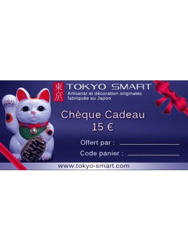 15€ Chèque Cadeau