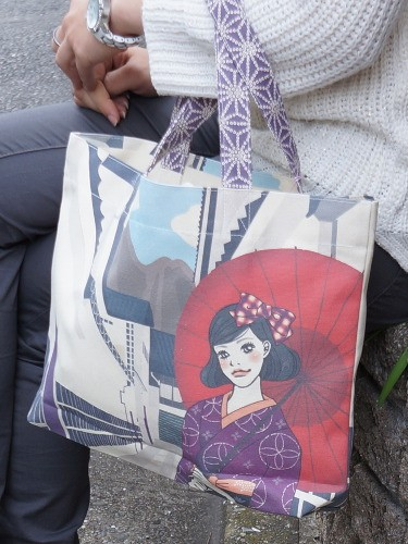 Yokonaga Joukamachi Bag