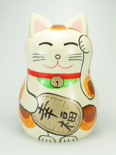Kokeshi Maneki Neko bois
