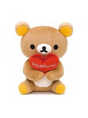 Doll Rilakkuma with heart