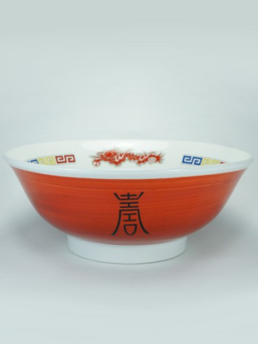 Urushi dragon bowl