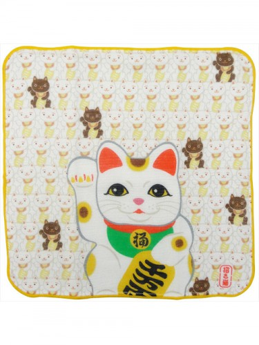 Mini serviette Maneki neko