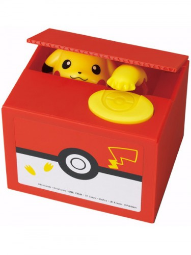 Coin Bank Pikachu
