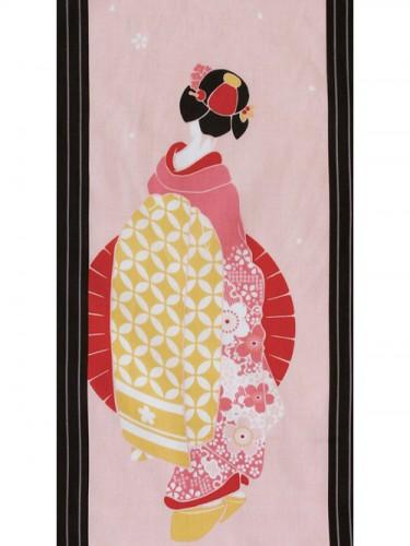 Tenugui Geisha Roji