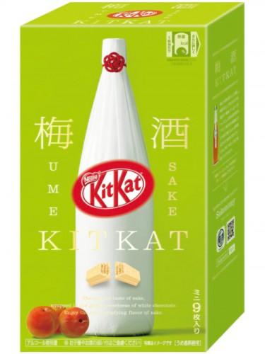 Kit Kat Ume Sake