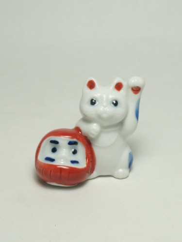 Chopsticks Holder Neko Daruma