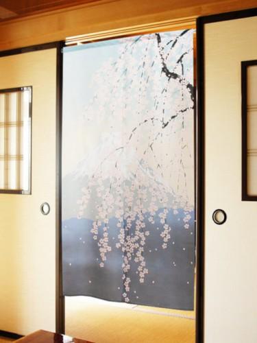 Noren Fuji Sakura Flowers
