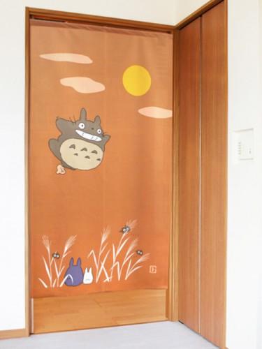Noren Totoro minna de otsukimi