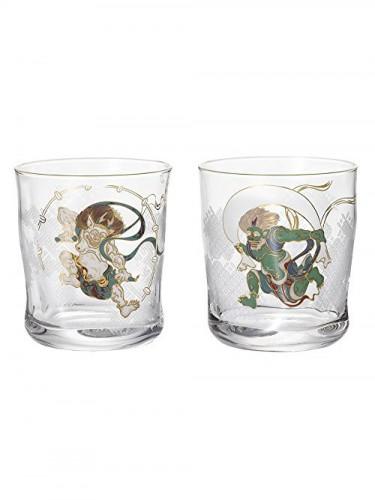 Fujin Raijin Glasses Set